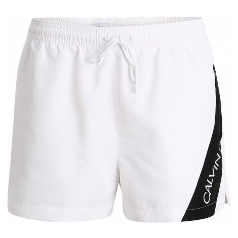 Calvin Klein Swimwear Szorty kąpielowe biały