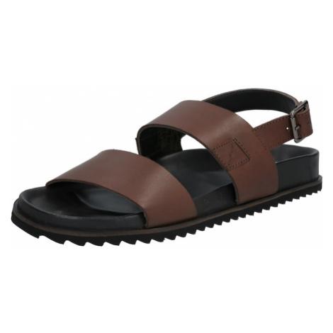 Shoe The Bear Sandały 'VIGO L' ciemnobrązowy