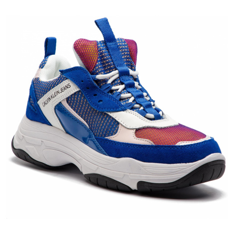 Sneakersy CALVIN KLEIN JEANS - Maya R7798 Nautical Blue/Rose/W