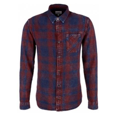 Q/S designed by koszula męska ciemny niebieski