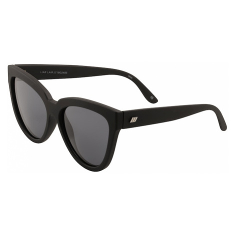 LE SPECS Okulary przeciwsłoneczne 'LIAR LAIR' czarny