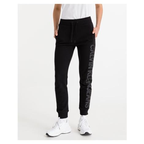 Calvin Klein czarny spodnie dresowe Institutional Logo
