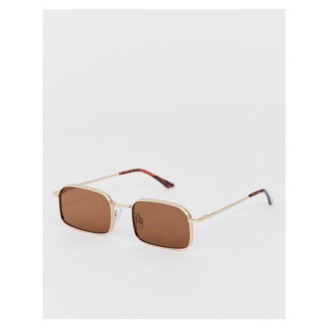 AJ Morgan square sunglasses in brown