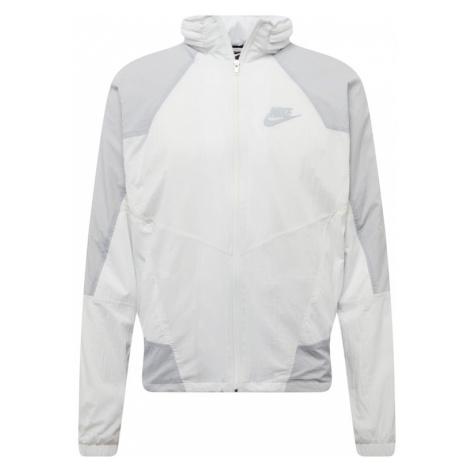 Nike Sportswear Kurtka przejściowa 'M NSW RE-ISSUE JKT HD WVN' biały