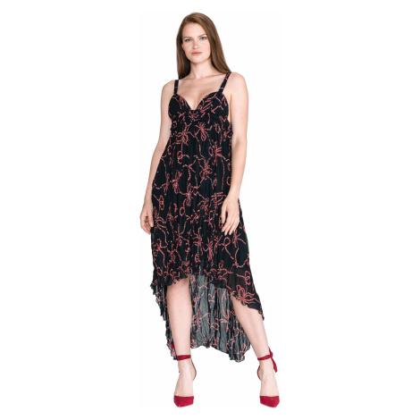 Pinko Agrimonio 1 Sukienka Czarny Niebieski
