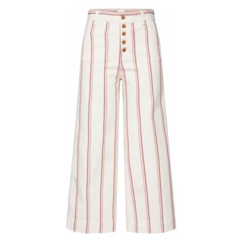 GAP Spodnie 'SEAFARER STRIPE' beżowy / różowy pudrowy / jasnoczerwony / naturalna biel