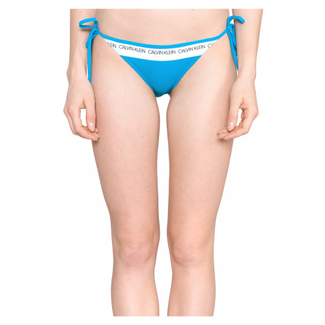 Calvin Klein Dolna część stroju kąpielowego Niebieski