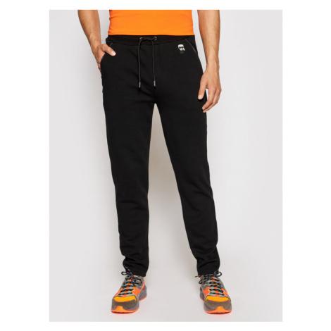 KARL LAGERFELD Spodnie dresowe Sweat 705025 511900 Czarny Regular Fit