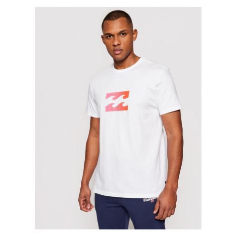 Billabong T-Shirt Team Wave U1SS51 BIF0 Biały Regular Fit