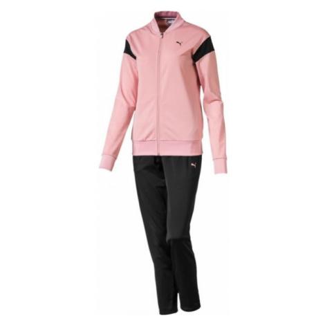 Puma CLASSIC TRICOT SUIT różowy XS - Dres damski