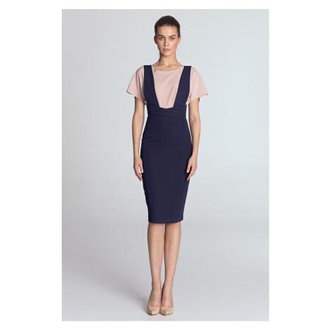 Nife Woman's Dress S116 Violet