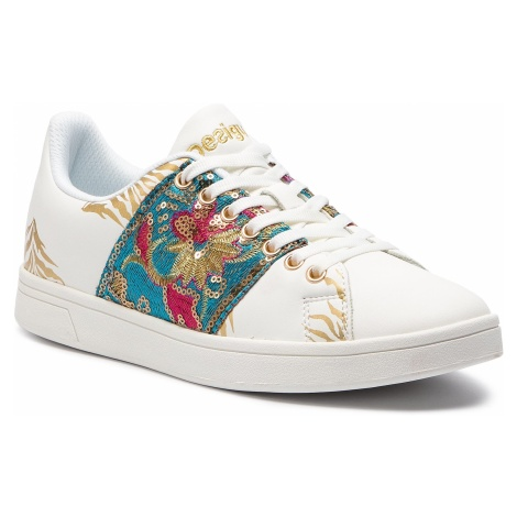 Sneakersy DESIGUAL - Shoes Cosmic Exotic Tropical 19SSKP11 1000