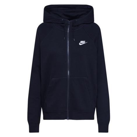 Nike Sportswear Bluza rozpinana czarny