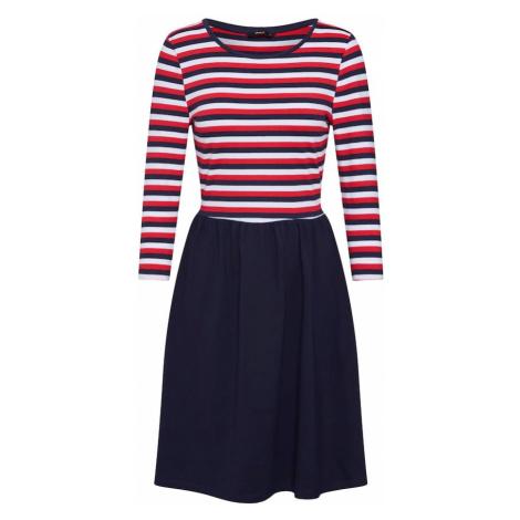 ONLY Sukienka 'AMBER AMY' niebieski / czerwony / biały