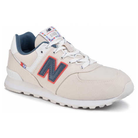 Sneakersy NEW BALANCE - GC574SOM Beżowy