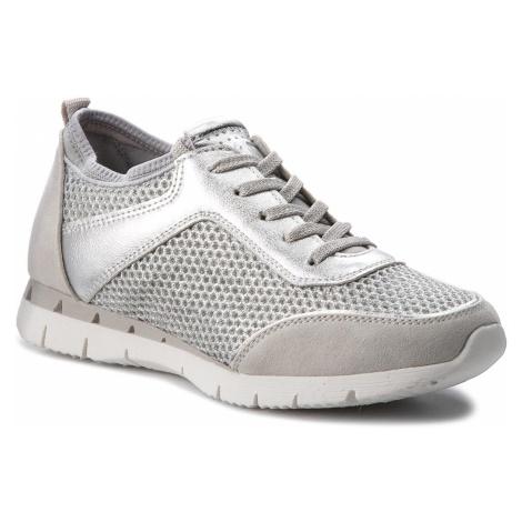 Sneakersy MARCO TOZZI - 2-23723-20 Silver Comb 948