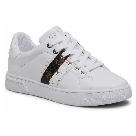 Sneakersy GUESS - Reel FL5REE ELE12 WHIWH