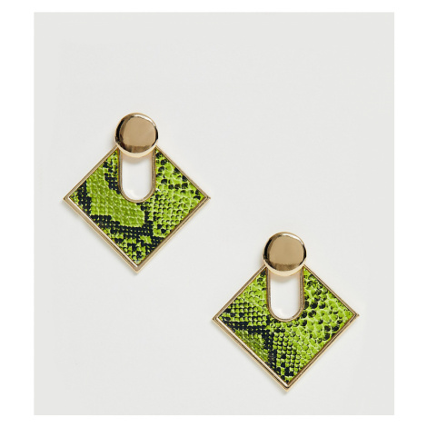 Liars & Lovers Exclusive neon snake statement earrings