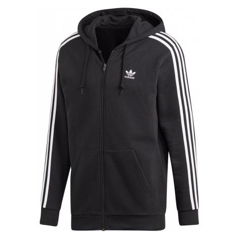 Adidas 3-Stripes Hoodie Męska Czarna (DV1551)