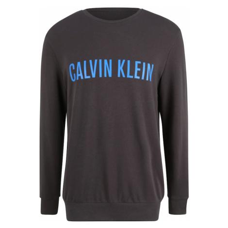 Calvin Klein Underwear Bluzka sportowa ciemnoszary / niebieski