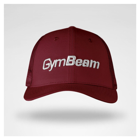 GymBeam Bejsbolówka Mesh Panel Cap Burgundy