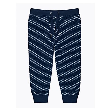 GATE Spodnie dresowe 3/4 nogawki w kropki