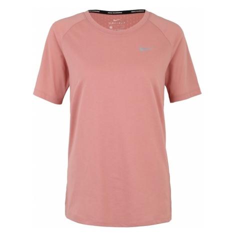 NIKE Koszulka funkcyjna 'TAILWIND' różowy pudrowy