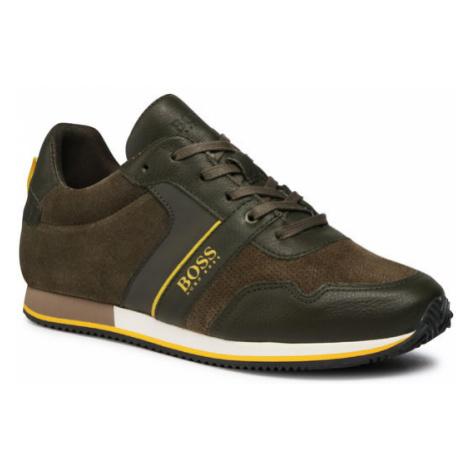 Boss Sneakersy J29253 D Zielony Hugo Boss