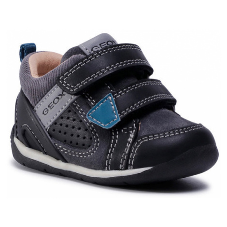 Geox Sneakersy B Each B. A B040BA 08522 C9999 Czarny