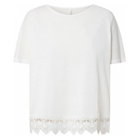 ONLY Koszulka 'ONLZIGA S/S TOP JRS' beżowy