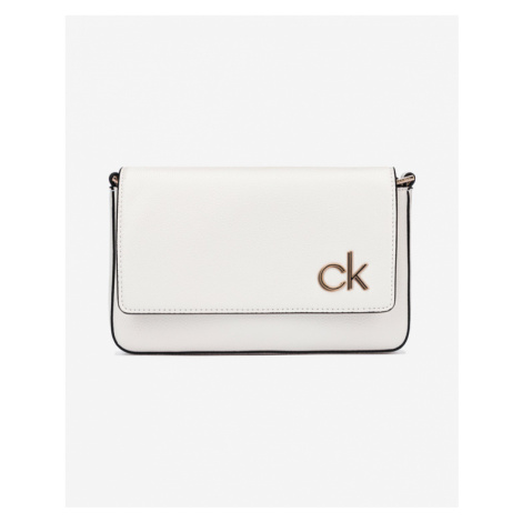 Calvin Klein Ew Flap Cross body bag Biały