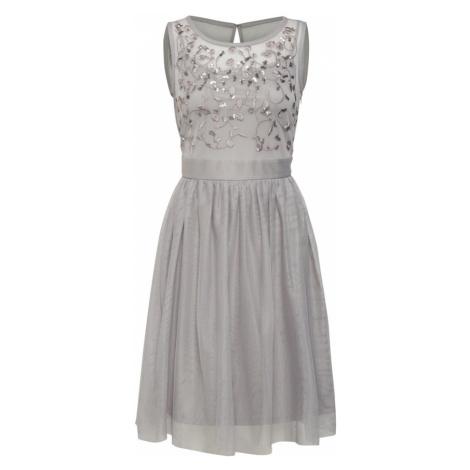 Esprit Collection Sukienka koktajlowa jasnoszary