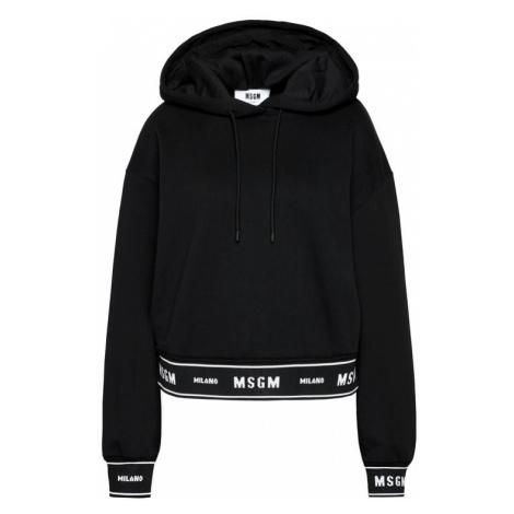 MSGM Bluza 2941MDM183 207799 Czarny Regular Fit
