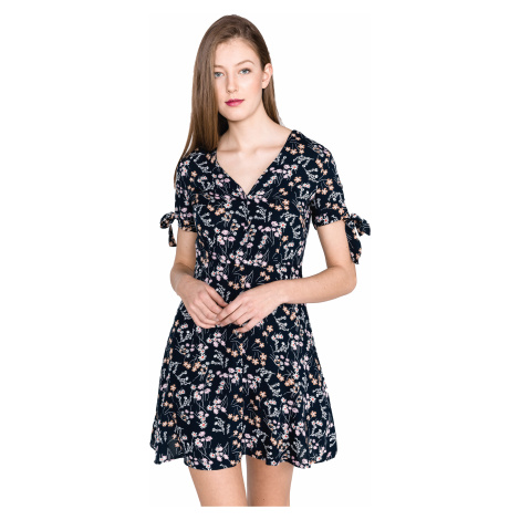 Vero Moda Lotus Sukienka Niebieski