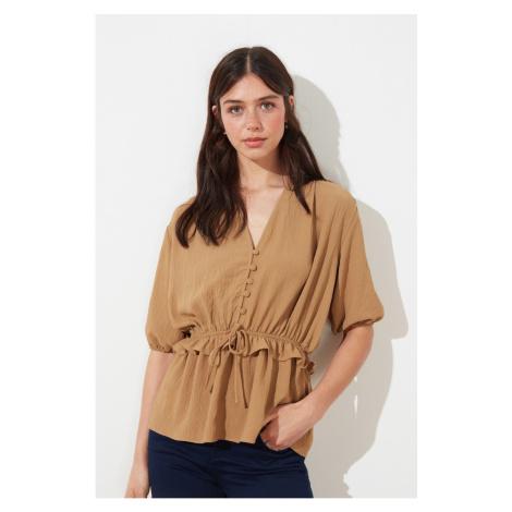 Trendyol Norka Binding Szczegółowa bluzka