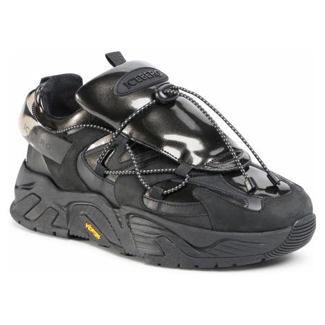 Sneakersy ICEBERG - Kakkoi MIU1284D Black