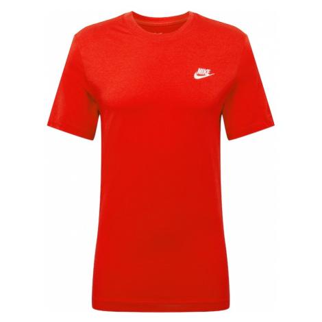 Nike Sportswear Koszulka 'CLUB TEE' czerwony