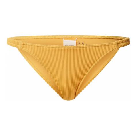 ROXY Dół bikini 'MIND OF FREEDOM' złoty żółty