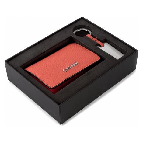 Zestaw upominkowy CALVIN KLEIN - Giftset Small Wallet + Keyfob K60K603817 801