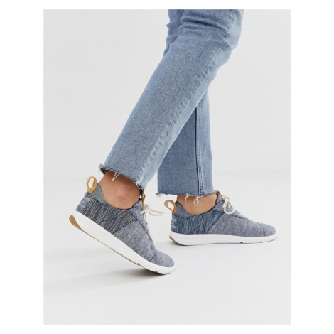TOMs lace up trainers