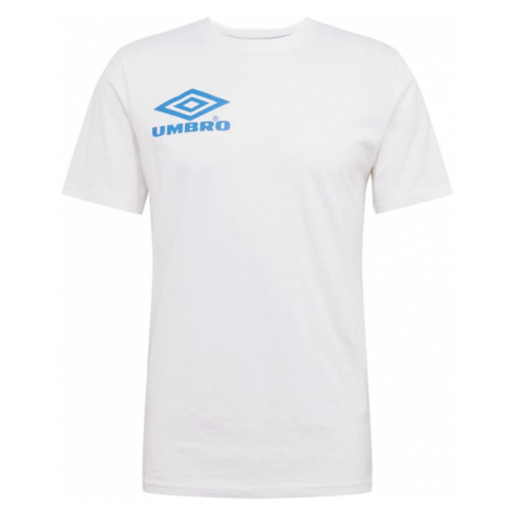 UMBRO Koszulka 'UMBRO COLLIDER CREW TEE' niebieski / biały