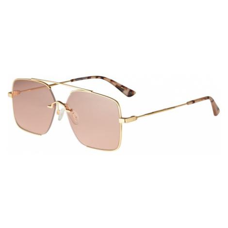 McQ Alexander McQueen Okulary przeciwsłoneczne 'MQ0264SA' różowy pudrowy / złoty