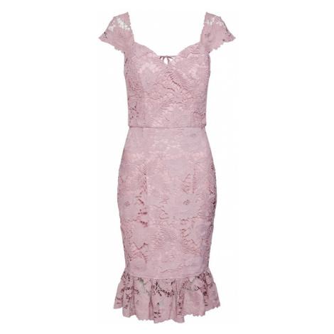 Chi Chi London Sukienka koktajlowa pastelowy fiolet