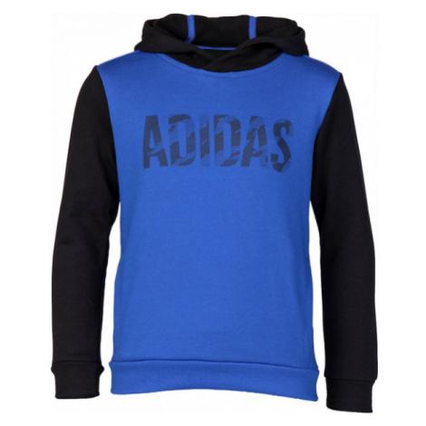 adidas OSR YB LOGO HD niebieski 128 - Bluza dziecięca