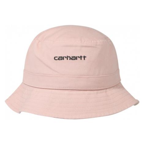 Carhartt WIP Kapelusz 'Script Bucket Hat' czarny / różowy pudrowy