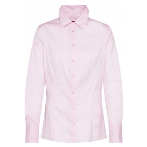 HUGO Bluzka 'The Fitted Shirt' różowy pudrowy Hugo Boss