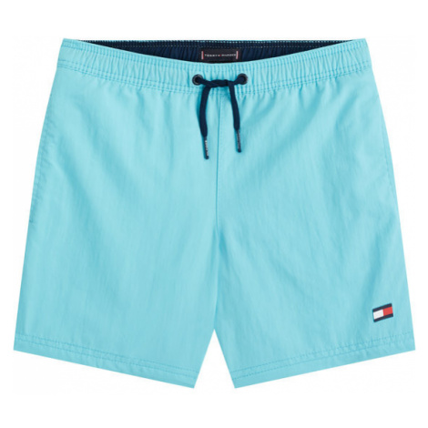 TOMMY HILFIGER Szorty kąpielowe Medium Drawstring UB0UB00169 Niebieski Regular Fit