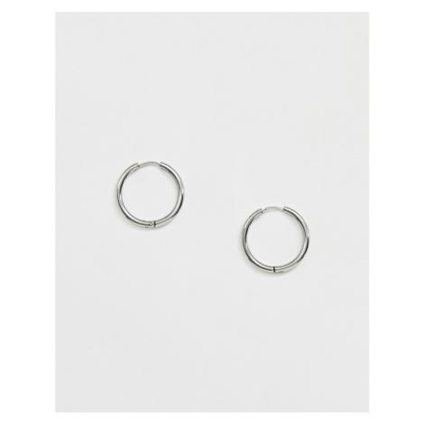 Uncommon Souls hoop earrings in silver