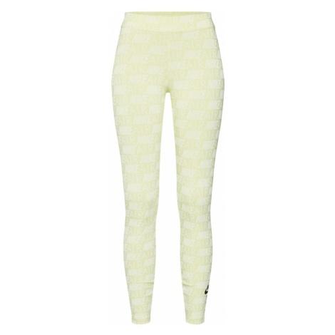 Nike Sportswear Legginsy żółty / biały