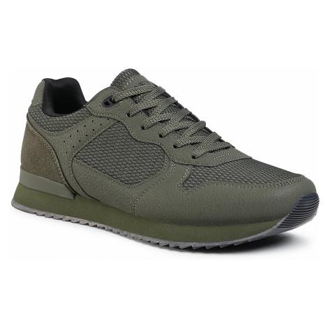 Sneakersy LANETTI - MP07-01433-02 Khaki